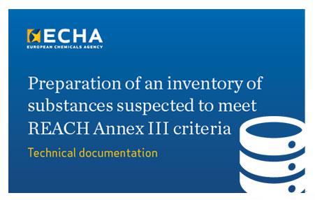 ECHA REACH Annex III criteria